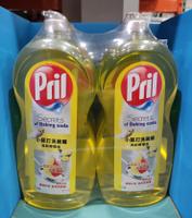 好市多 Pril 小蘇打洗碗精清新檸檬香 1.5公升 X 2入