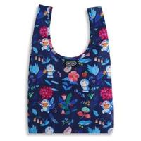 【murmur】哆啦A夢 花草-藍(購物袋.環保袋.可收納.便當包)