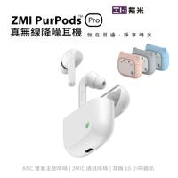 ZMI紫米PurPods Pro 真無線藍牙5.2 ANC降噪耳機無線充電 TW-100+BHT10充電盒保護套組合