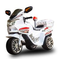 TECHONE MOTO 25 兒童電動警車單驅三輪摩托車