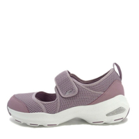 SKECHERS D'LITE ULTRA [12862LAV] 女鞋 休閒 時尚 運動 透氣 增高 吸震 魔鬼氈 紫白