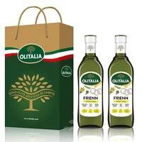 【Olitalia奧利塔】高溫專用葵花油禮盒組(750mlx2瓶)