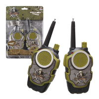 兒童軍事無線對講機(有效距離約30公尺)(1組2支附電池)【888便利購】