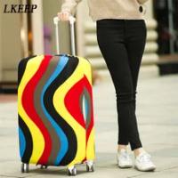 กระเป๋าเดินทางกระเป๋าเดินทางป้องกันยืดครอบคลุมฝุ่นสำหรับ20/24/28นิ้วกระเป๋าเดินทางProtectorอุปกรณ...