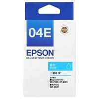 【EPSON】04E 原廠藍色墨水匣(T04E250)
