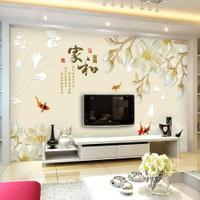 電視背景墻壁紙客廳立體壁畫8d影視墻布裝飾現代簡約墻紙大氣LX