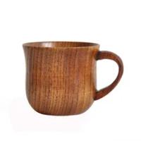 ไม้ธรรมชาติถ้วยกาแฟ Handle สักอาหารเช้าถ้วยนมถ้วยน้ำทำด้วยมือถ้วยเครื่องดื่มถ้วยเบียร์ถ้วยช...