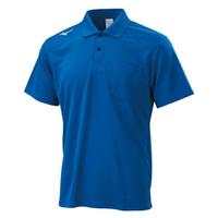 Mizuno Polo [32TA002022] 男 短袖 Polo衫 吸汗 速乾 運動 休閒 藍