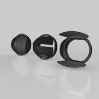 又敗家@台灣品牌HOOCAP半自動鏡頭蓋SH-49A即索尼SONY遮光罩ALC-SH112遮光罩+49mm鏡頭前蓋SA-49二合一組(少入塵.遮陽.保護鏡頭)適E 16mm F2.8 18-55mm F3.5-5.6 OSS SEL16F28 SEL1855 NEX7 NEX6 NEX5 NEX3半自動蓋半賓士蓋SH49A