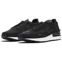 【NIKE 耐吉】休閒鞋 男鞋 運動鞋 WAFFLE ONE 黑 DA7995-001