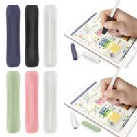 3Pcs ซิลิโคนกระเป๋าป้องกันสำหรับ Apple ดินสอ1 2 Anti-Scratch Touch ปากกาสำหรับ iPad ดินสอ1nd 2nd อุปกรณ์เสริม