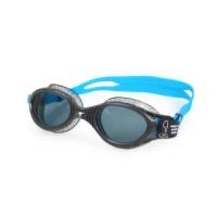 【SPEEDO】FUTURA BIOFUSE 成人運動泳鏡-游泳 蛙鏡 訓練 戲水 深灰藍銀(SD811315D643)