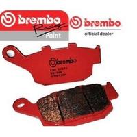 BREMBO 紅色煞車皮 HONDA CB650R CBR500R CBR1000RR 後煞車皮