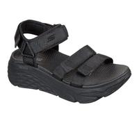 Skechers Max Cushioning Sandal [140218BBK] 女 運動涼鞋 厚底 避震緩衝 黑