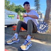 帝安諾 - 實體店面 Nike Sacai x Vaporwaffle  奶茶 紫色 藍勾 DD1875-200