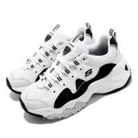 【全新免運】Skechers D Lites 3.0-Zenway 女鞋 12955WBK【US8.5=25.5cm】