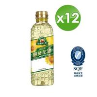 【得意的一天】100%純葵花油1L*12瓶(新裝上市)