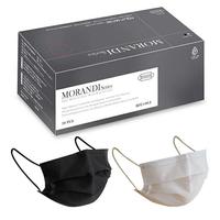 水舞 成人醫療平面口罩(莫蘭迪混色款-黑盒2色各15片共30片/盒) [大買家]