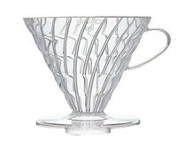 金時代書香咖啡  HARIO V60 03 樹脂濾杯 透明 4-6杯 VD-03T