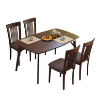 餐桌椅  餐桌  餐椅  阿瑟實木餐桌椅組(一桌四椅)(2色)  【TA314+CH1020*4】RICHOME