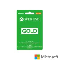 【Microsoft 微軟】XBOX LIVE 12個月金會員 數位下載版(購買後無法退換貨)