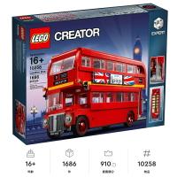 【LETGO】現貨 樂高 LEGO 創意系列 London Bus 10258 英國倫敦巴士 雙層巴士 復古車 生日