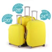 ใหม่ล่าสุดกระเป๋าเดินทางป้องกันครอบคลุมคุณภาพสูงใช้กับ 18 ~ 30 นิ้ว, ยืดหยุ่นยืด 4 สี