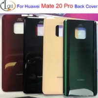 New For Huawei mate20 Pro Mate 20 Pro Battery Glass Back Cover Case for Huawei Mate 20 pro Battery Housing Cover mate 20Pro door
