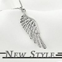 韓國進口 時尚單品 Kris 吳亦凡 希望天使翅膀項鏈 愛戀系列 可當男女對鏈 (單條價)