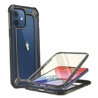 [9美國直購] SUPCASE Unicorn Beetle EXO Pro系列保護殼 for iPhone 12 Mini(5.4吋) 水藍/黑/紫 三色