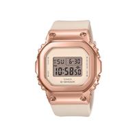 CASIO卡西歐 G-SHOCK 簡約優雅 玫瑰金錶殼 金屬時尚 GM-S5600PG-1