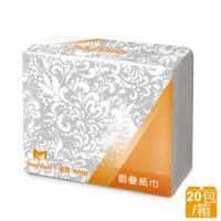 【五月花】MFP摺疊擦手紙(200張x20包)