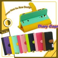 【福利品】Sony Xperia Z2 D6503 日記系列 側掀皮套 側翻 可立式 插卡 保護套 保護殼 皮套