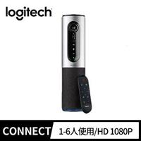 【Logitech 羅技】ConferenceCam Connect 視訊會議系統(1080p/6人)