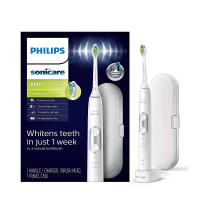 Philips 電動牙刷 HX6877/21 ProtectiveClean 6100 Rechargeable Electric Toothbrush 白 [9美國直購]