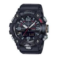 【CASIO 卡西歐】G-SHOCK雙顯手錶(黑 GG-B100-1A)