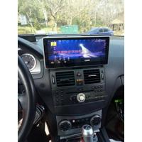賓士 C300 10.25吋安卓專用主機 衛星導航+音樂+藍牙電話