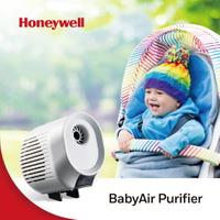 【防疫護健康】Honeywell 空氣清淨機 BabyAir 嬰兒車用戶外空氣清淨機(加贈簡潔口罩100片)►超取499免運