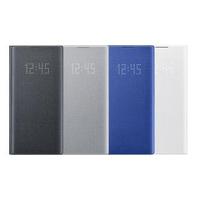 【SAMSUNG 三星】GALAXY Note10+ LED 原廠皮革翻頁式皮套(公司貨-盒裝)