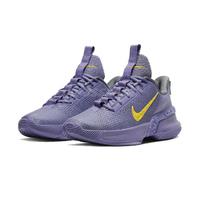 【NIKE 耐吉】Ambassador XIII 運動 男鞋 氣墊 避震 包覆 明星款 球鞋 穿搭 紫 黃 籃球鞋(CQ9329500)