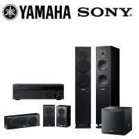 【YAMAHA & SONY】5.1家庭劇院組(STR-DH790+NS-F150+NS-P150+NS-SW050)