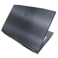 【Ezstick】MSI 微星 Katana GF66 11UE 11代 黑色卡夢紋機身貼(含上蓋貼、鍵盤週圍貼)