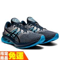 ASICS NOVABLAST 一般楦 男慢跑鞋 彈力型 1011B149-400 贈腿套 21SS 【樂買網】