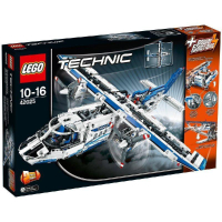 【52 lego】全新LEGO樂高 42025  白色波音貨機