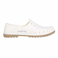 【LOTTO】女經典帆船洞洞鞋-台灣製 海邊 排水 水陸鞋 懶人鞋 走路鞋 輕便鞋 白(LT1AWS3569)