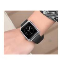 สำหรับApple Watch Case 38Mm Series 3 2 1 Clear,soft TPU Shell ShockproofกันชนสำหรับIwatch (Clear, 38มม.,40มม.,42มม.,44มม.)
