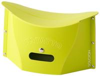 PATATTO mini超輕量可折疊攜帶式椅子S-綠,露營椅/收納椅/造型椅/折疊椅/凳子/矮凳/板凳/椅子,X射線【C642637】