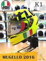 任我行騎士部品 AGV K1 MUGELLO 2016 全罩 安全帽 ROSSI 羅西 主場帽 單鏡片 輕量化 通風