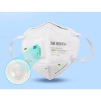 【現貨秒發】3M口罩N95 9501v耳帶閥頭戴9001v醫療級9502防塵毒9002呼吸閥Kn95