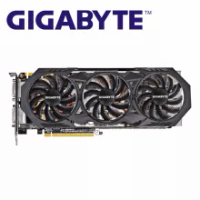 GIGABYTE GTX 970 4GB Graphics Cards GDDR5 256 Bit GPU Video Card for nVIDIA Geforce GTX970 4GB Map VGA Hdmi Dvi Cards Used